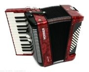 Hohner Bravo II-48 Red
