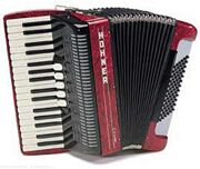 Hohner Amica III-72 Red